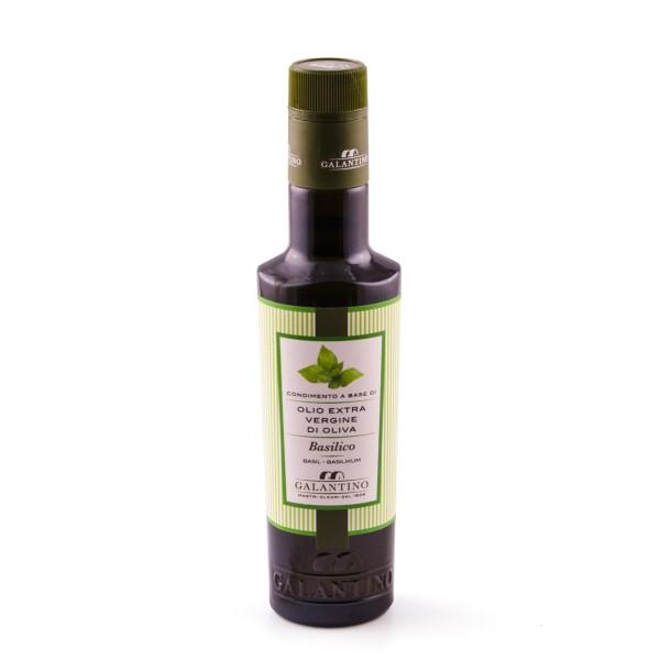 Olivenöl mit Basilikum, 250 ml