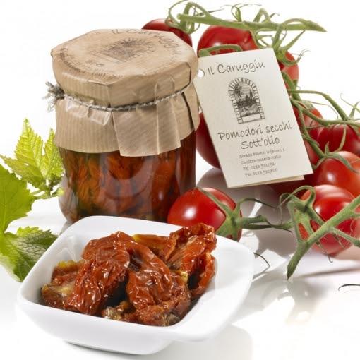 Pomodori secchi sott`olio, 180 g