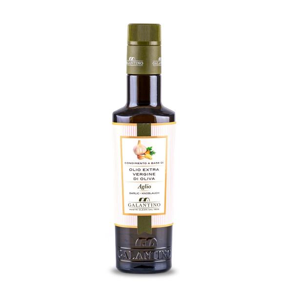 Olivenöl mit Knoblauch, 250 ml