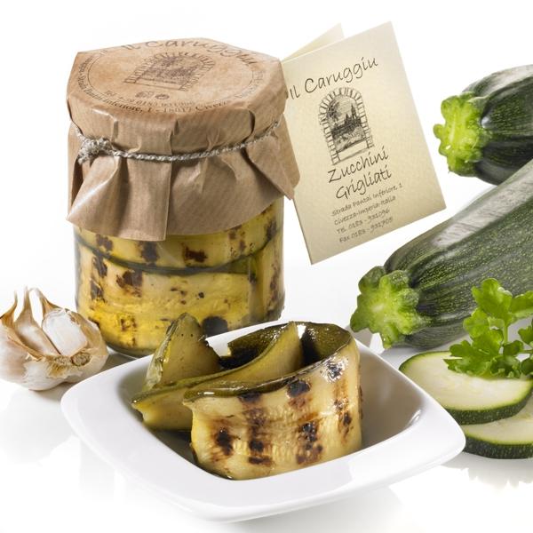 Zucchini grigliate, 180 g