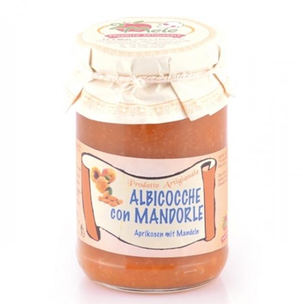Confettura albicocche con mandorle, 346 g