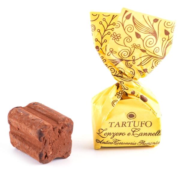 Tartufi Zenzero e Cannella, 100g