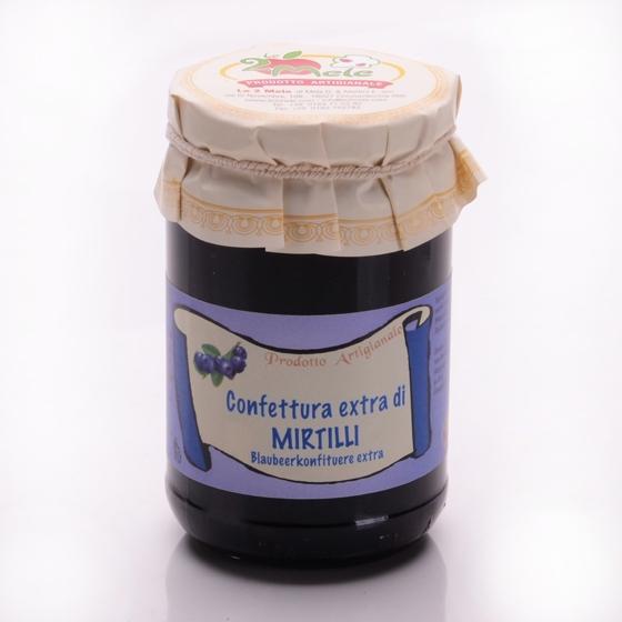 Confettura di mirtilli, 346 g