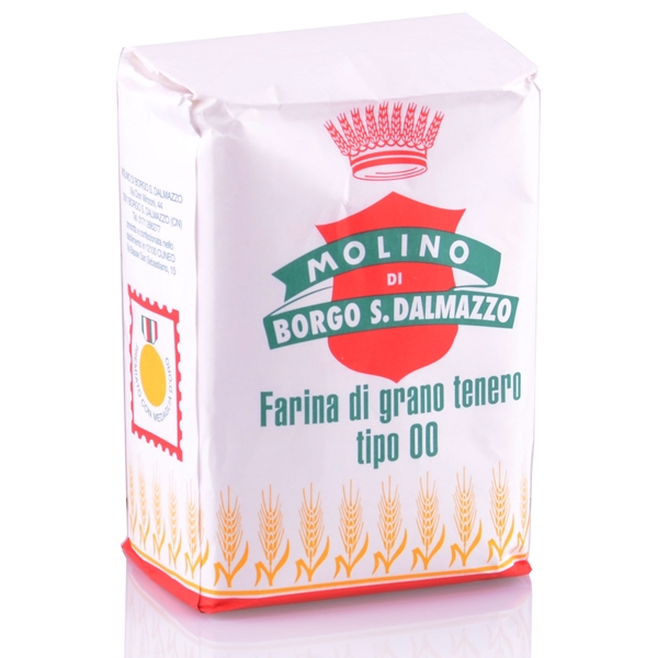 Farina di grano tenero 1 kg Weizenmehl Typ 00