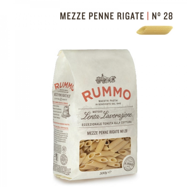 RUMMO Mezze Penne Rigate, 500 g